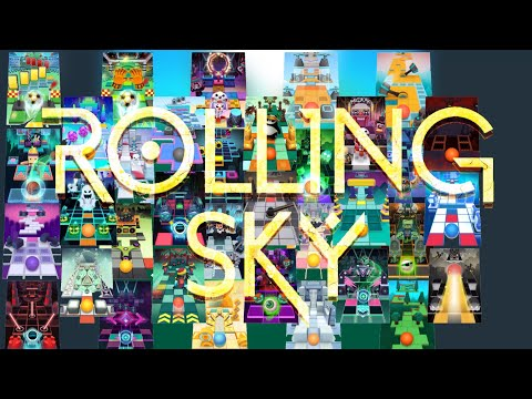 Rolling Sky All Levels (1.8.5)   Non-Themed vs Normal