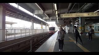 ありがとう 名鉄1702系 豊橋駅発車!