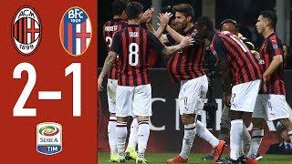 Download Video Highlights AC Milan 2-1 Bologna - Matchday 35 Serie A TIM 2018/19 MP3 3GP MP4
