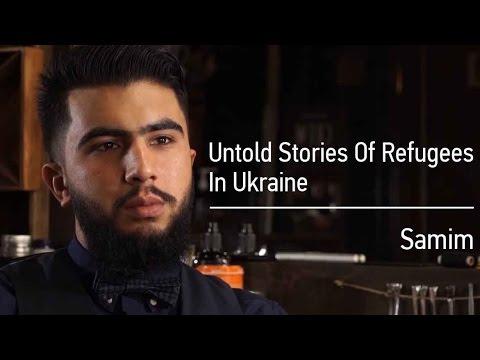 Untold Stories Of Refugees In Ukraine: Samim