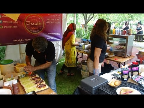 "Mumbai Toasted Sandwich, Samosa Chaat & Cheesy Masala Chips Wrap: Indian Street Food by ""Chaatit""."