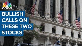 Bullish calls on two big semi stocks