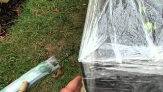 How To Make A $15 Plastic Wrap Mini Garden Greenhouse: Extend Your Season!