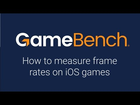 How to measure game frame rates on iOS devices