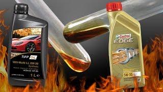 Czy Tipp Oil 5W30 jest lepszy niż Castrol 5W30? Sprawdźmy...