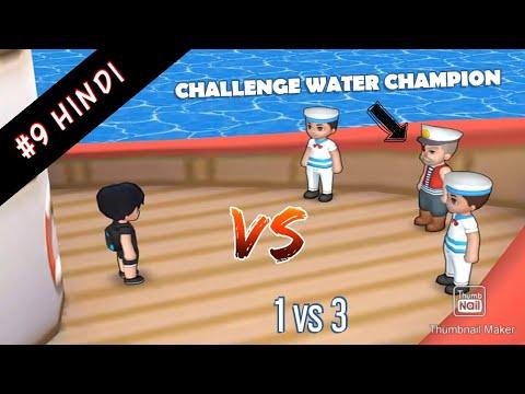 #9 DRAKOMON CHALLENGE WATER CHAMPION water gym leader /Hindi/