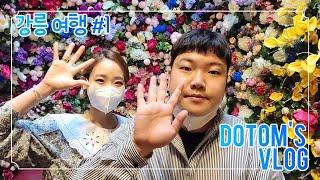 [vlog] 일상 브이로그 (강릉 여행/ 강릉 맛집/뒷…