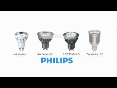 Philips GU10 LED Bulb Guide   GU10 LED Bulbs