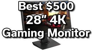 "Best $500 28"" 4K Gaming Monitor - 1ms - Adaptive Sync - Ultra HD - ASUS MG28UQ"