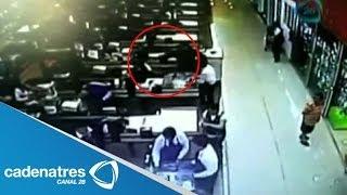 ¡¡ENTÉRATE!! Revelan video del asesinato de cajera en Superama de Cuernavaca, Morelos