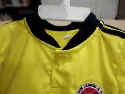 camiseta seleccion colombia bebe