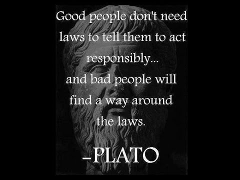 Quotes About Laws Good People Bad People Youtube