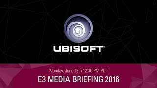ubisoft e3 2016 press conference livestream