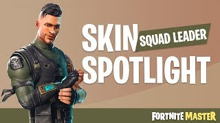 Squad Leader Skin Spotlight (Fortnite Battle Royale)