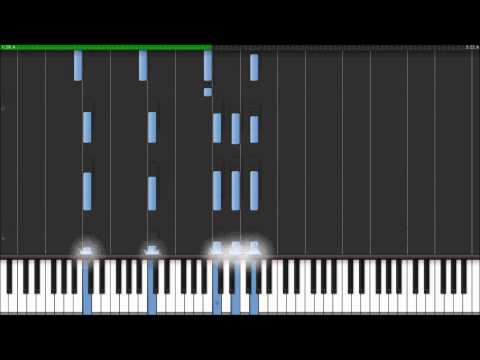 Radiohead - The Daily Mail - Instrumental Piano Cover (Synthesia Tutorial)