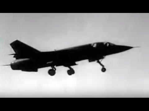 1968 Mirage G Avión Experimental de Geometría Variable  - Dassault Mirage G