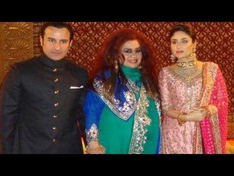 Saif Ali Khan & Kareena Kapoor's DELHI WEDDING RECEPTION ...