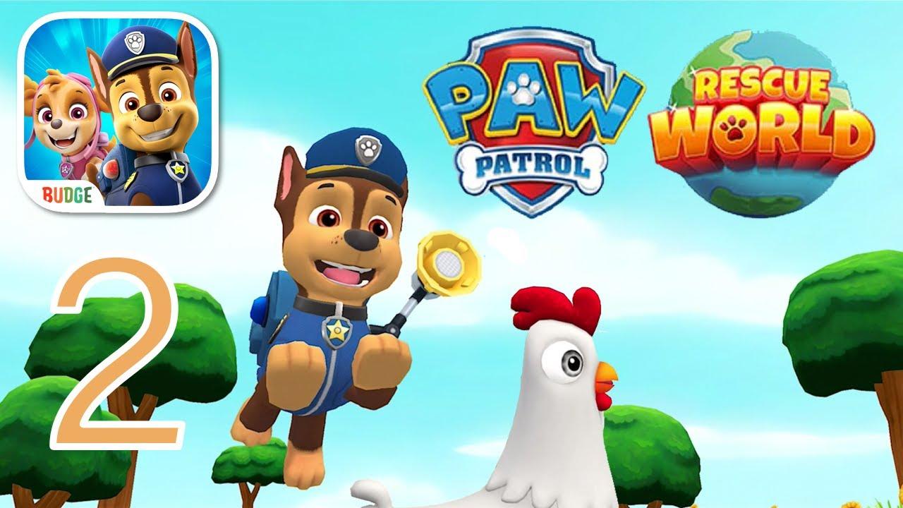 PAW Patrol Rescue World with Chase, Skye, Marshal & Zuma Gameplay Part 2