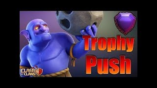 PUSHING AND FARM/CHECK BASE-Clash of clans