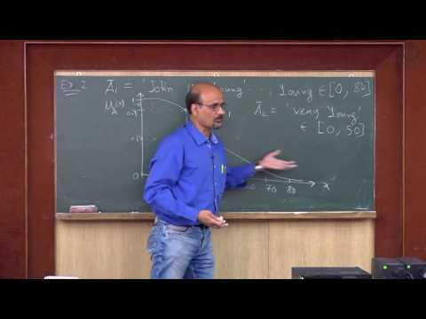 Membership function and normalized fuzzy set - Lecture 02 By Prof S Chakraverty (NIT Rourkela)
