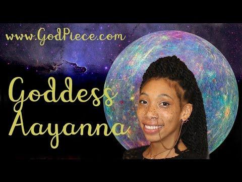 Goddess Aayanna & B Dot ~ God Talks