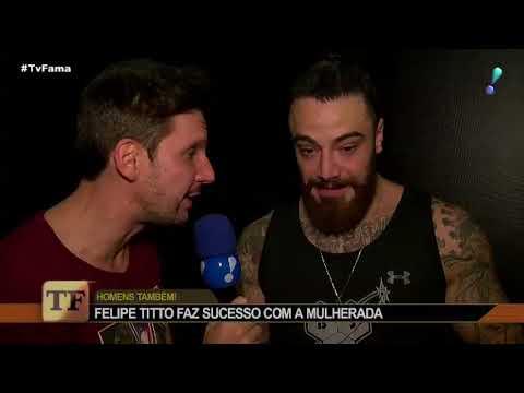Felipe Titto Brinca Sobre Carinho Das Fãs: