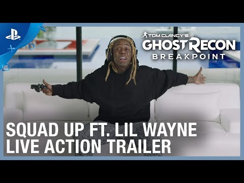 Ghost Recon Breakpoint - Squad Up with Lil Wayne | PS4