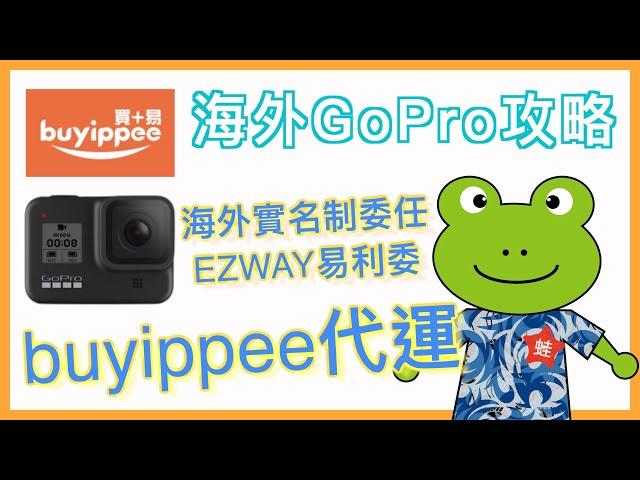 小蛙實測教學 #9 - 這樣買 GoPro 省超大   GoPro9上市,剛買完8就出9   EZ WAY 海外實名委任   親身實測 buyippee 海外代運   國外買東西   記下來