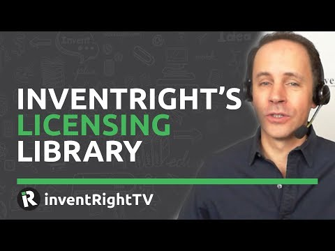 inventRight's Licensing Library Mp3