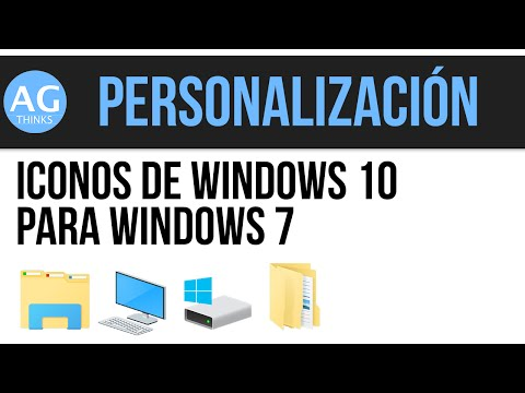 Iconos de Windows 10 para Windows 7 (32 y 64 bit)   IconPack Installer