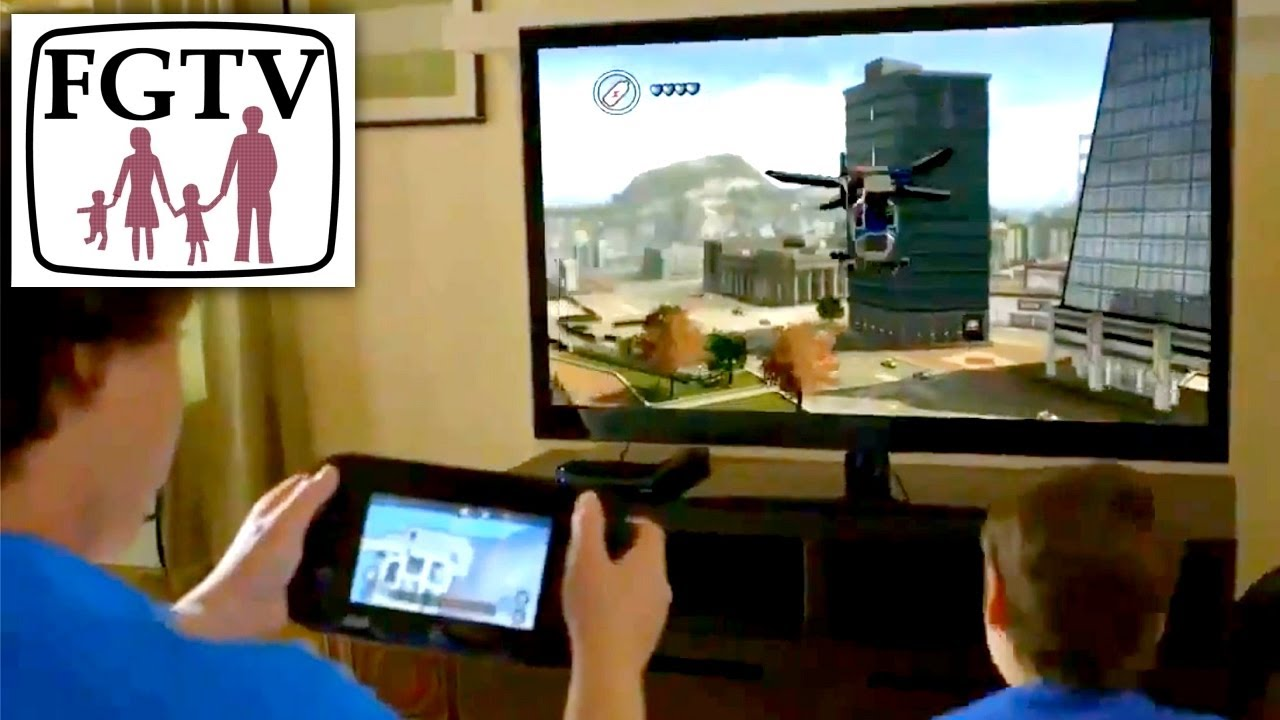 Lego City Undercover Wii U Review Part 1 Of 2 Hands On With Family Youtube