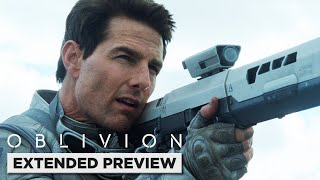 Oblivion | Tom Cruise Gets Attacked by a Drone