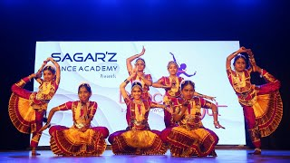 Kaatrodu kuzhalin Naathame Dance video   Bharatanatyam    Sagarz Dance Academy   Dance Out 2020