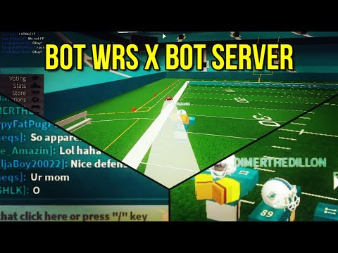 BOT WRS IN A BOT SERVER! [ROBLOX FOOTBALL FUSION]