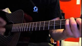 How to Play The Darkness Last of Our Kind guitar intro