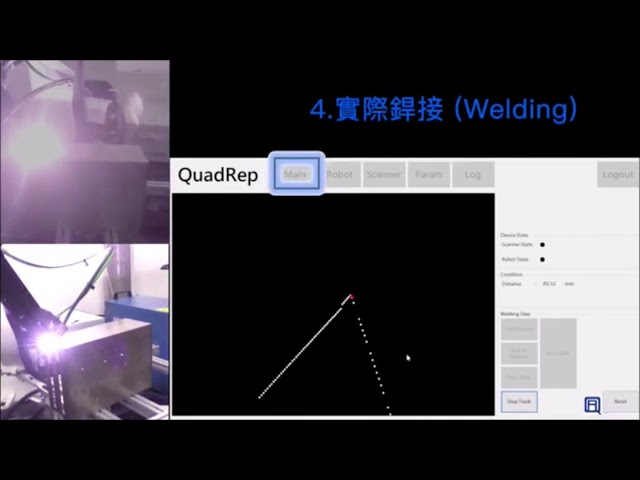 Stainless Box Weld Beading with QuellTech Laser Scanners
