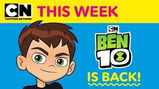 Ben 10 is Back! | Ben 10 | Cartoon Network This Week
