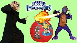 Skylanders Imaginators Giant Toys Surprise Egg PS4 Gameplay Character Creation Ckn Toys