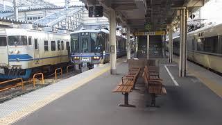 【北陸本線】681系 回送 富山到着&413系B11編成 普通糸魚川行き 富山発車