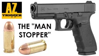 """Glock 21 Review & Accuracy (The Best """"Man Stopper"""" Pistol?)"""