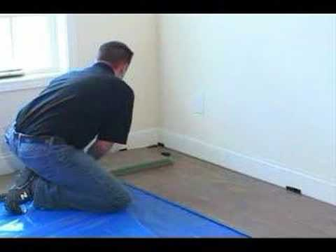 Installing The Second Row Of Your Faus Laminate Floor