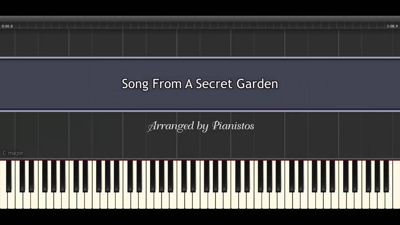 Piano Tutorial | Song From A Secret Garden - Secret Garden [Khó - Tốc độ 100%]