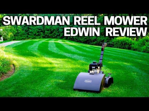 Swardman Reel Mower Review - Edwin 2.0 Lawn Mowing System