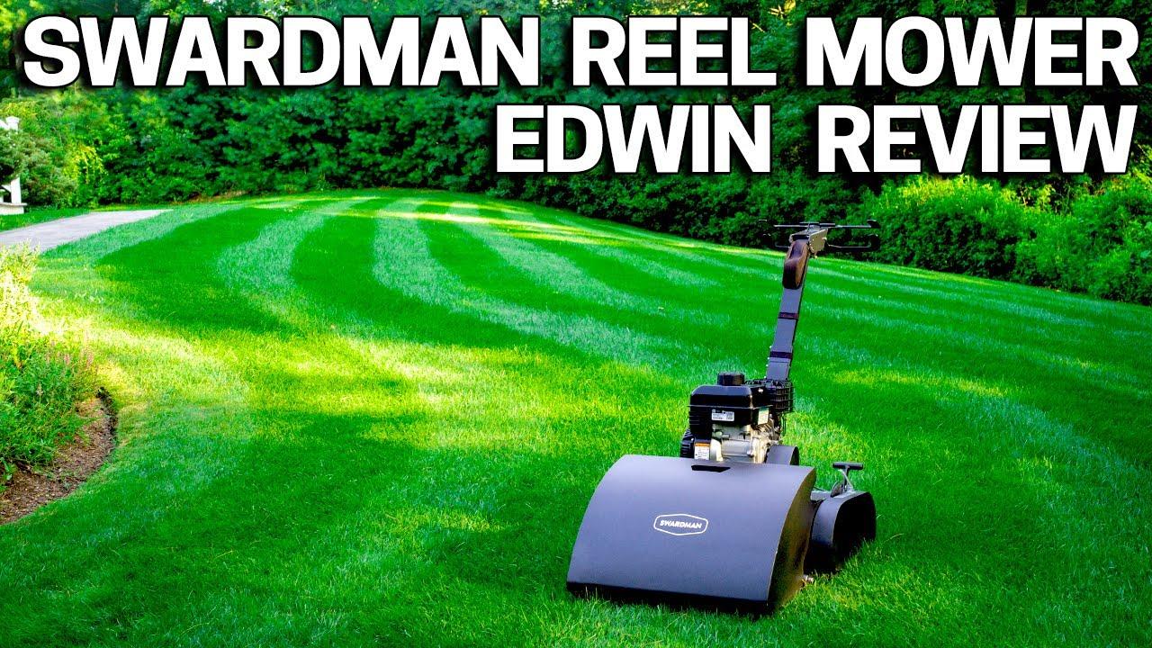 Swardman Reel Mower Review - Edwin 2 0 Lawn Mower System