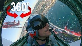 Akrobatik-Flug: Fliege mit dem PC-7 TEAM über das Züri Fäscht 2019 (Zürich) I 360-Grad-Video
