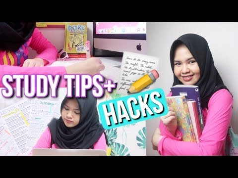 MAKE YOUR STUDY EASIER!📓✏️♡ 5 STUDY TIPS 2K17 - Indonesia
