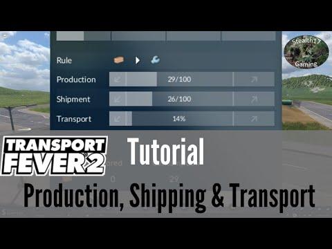 Transport Fever 2 - Production, Shipping & Transport - Tutorial thumbnail
