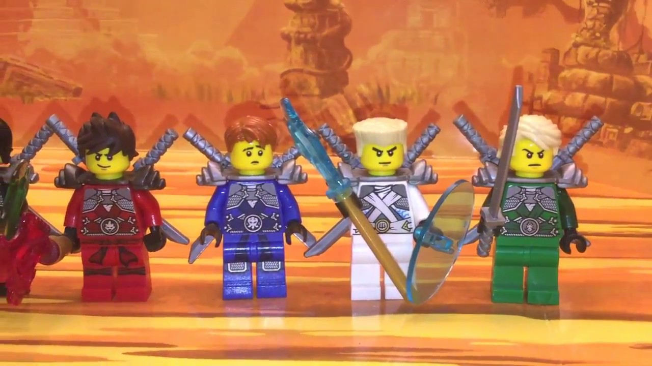 Genuine Lego Ninjago Nya Skybound With Armour /& Swords Mini Figure