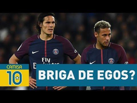BRIGA de EGOS? ENTENDA a TRETA Neymar x Cavani no PSG!