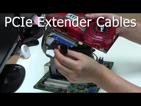 PCIe Extender Cables For GPU Cryptocoin Mining